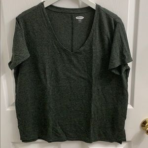 Boyfriend Size M Old Navy V-Neck